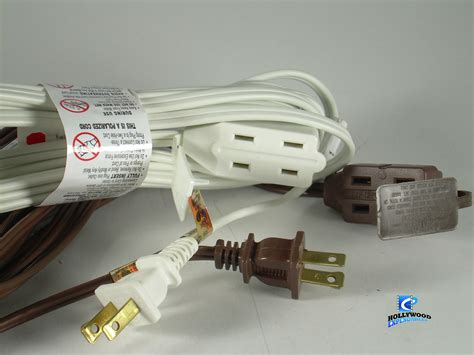 extension cord 6 12 16 2 wire 2 colors