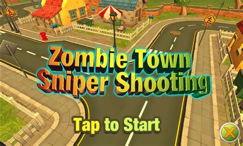 zombie shooting sniper town play game banner games playplayfun zoom