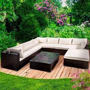 Gartenmöbel Sitzgruppe Rattan Lounge : poly rattan gartenm bel lounge m bel sitzgarnitur gartengarnitur sitzgruppe sofa ~ Sanjose-hotels-ca.com Haus und Dekorationen