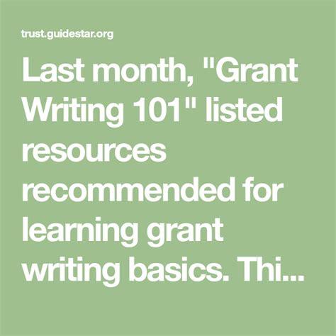 Pin on Grant Writing