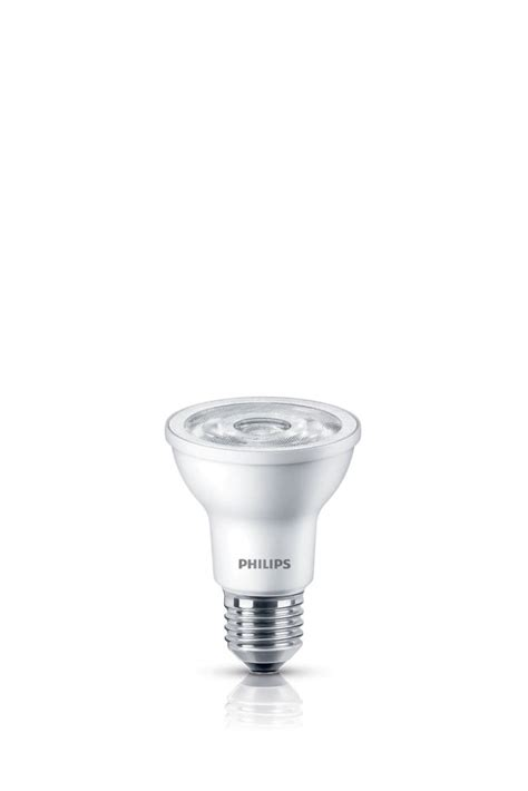 philips led 6w 50w par20 bright white 3000k the home