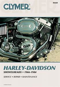 Clymer Service Repair Manual For Harley Davidson 66