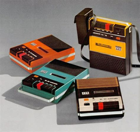 ITT Schaub Lorenz, Cassette recorder, 1973. ITT ...