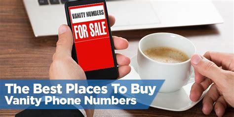 Vanity Number by The Best Places To Buy Vanity Phone Numbers