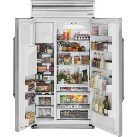 ge zispdhss monogram   built  side  side refrigerator   cu ft capacity