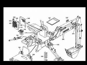 Kubota Bh75 Bh90 Bh 75 90 Backhoe Tractor Parts Manuals