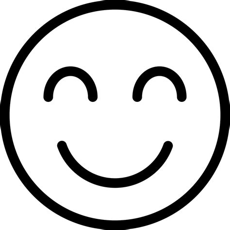 Smile Svg Png Icon Free Download (#384404) - OnlineWebFonts.COM
