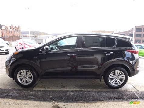 kia sportage black 2017 black cherry kia sportage lx awd 111986536 photo 6