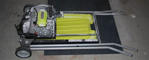 Ryobi Tile Saw Water by Ryobi 7 In Portable Tile Saw With Laser Ws750l Review