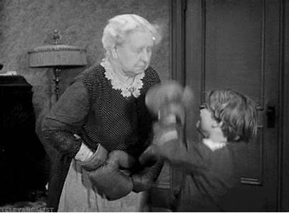 Rascals Boxing Lady Gang Gifs Fight Margaret