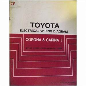 Toyota Corona  U0026 Carina Ii Wiring Diagram Manual 1983