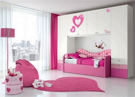 Bedroom Designs For Teenage Girls With Pink Color