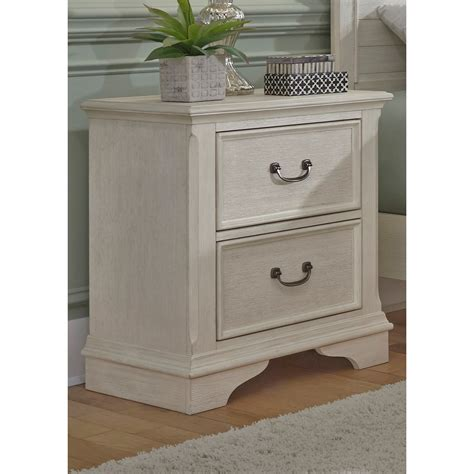 Bedroom Furniture Stands by Liberty Furniture Bayside Bedroom Transitional 2 Drawer