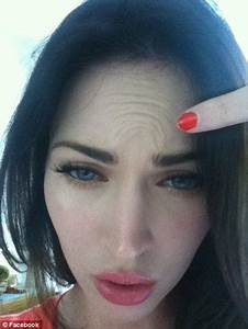 Megan Fox shows plastic surgery whispers are false in ...