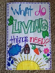 Living Things Anchor Chart Kindergarten Anchor Charts