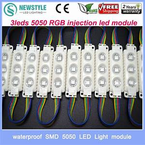 high quality type 3leds 5050 rgb injection led module With rgb led modules for channel letters