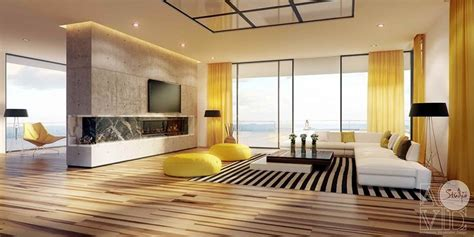 25 Gorgeous Yellow Accent Living Rooms by 3281 Best Living Room Designs Images On