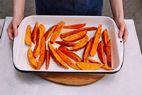 how to make sweet potatoes how to make sweet potato fries jamie oliver features