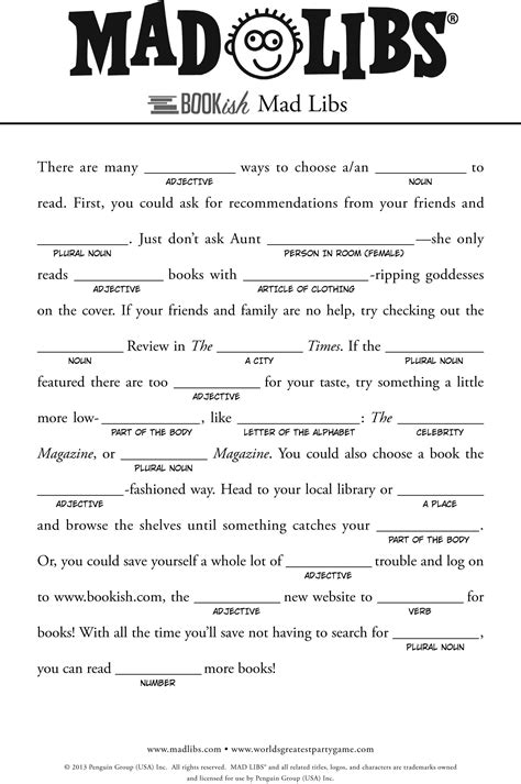 Mad Libs For Kids Google Search For Kids Pinterest