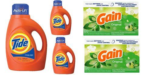 dollar general tide detergent gain dryer sheets only 0