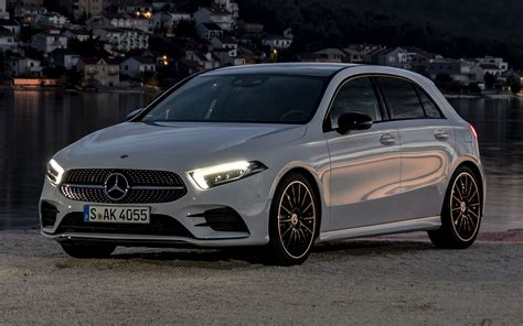 Mercedes A Class Wallpapers by 2018 Mercedes A Class Amg Line Wallpapers And Hd