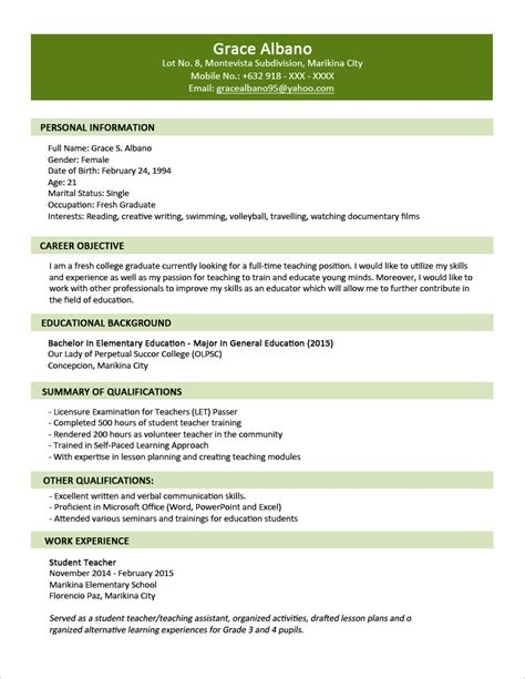 resume format sles best resumes