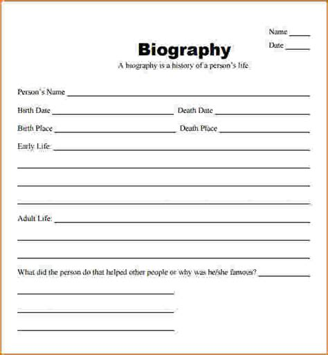 biography templates teknoswitch