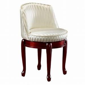 Home, Decorators, Collection, Delmar, Ivory, Stripe, Swivel, Vanity, Stool-5544410410