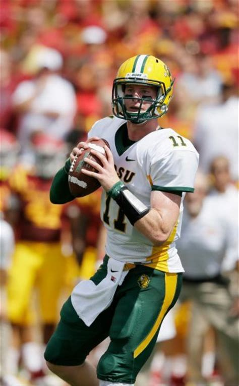 bison qb ready  grizzly challenge football