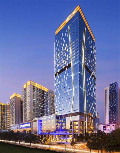 hilton worldwide opens its first hotel in hunan china