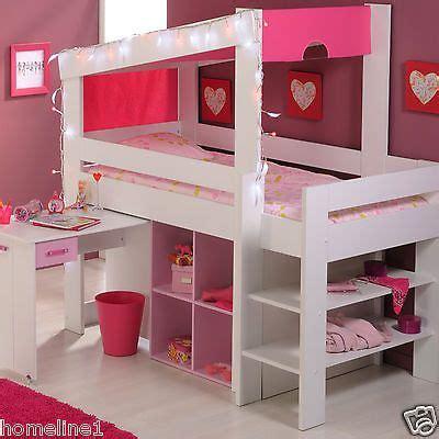 Kinderzimmer Deko Mädchen Günstig by M 228 Dchen Kinderbett Hochbett Funktionsbett Rosa