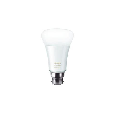 philips hue ambient white led smart light bulb b22 for