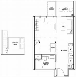 Sims urban oasis condo singapore private condo for sale for Urban loft floor plan
