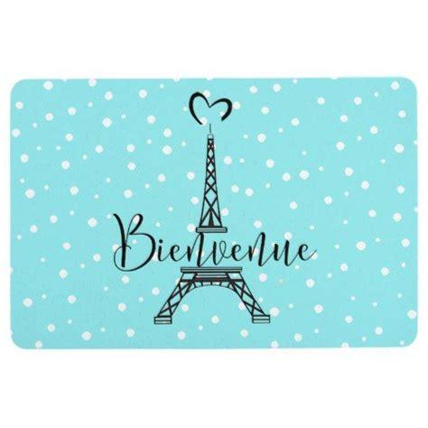 """Bienvenue"" (Welcome in French) Floor Mat | Zazzle.com in ..."