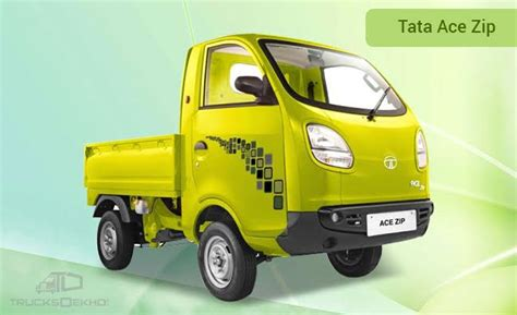 Review Tata Ace by Tata Ace Zip Price Mileage Specifications