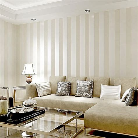 striped living room wallpaper gallery
