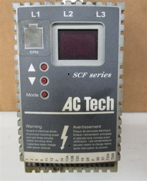 Ac Motor Drive by Ac Tech Sf205y Variable Speed Ac Motor Drive 0 5 Hp 208
