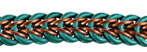 chainmaille weave ideas rubber  rings