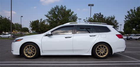 closed  acura tsx sport wagon base bellanova white