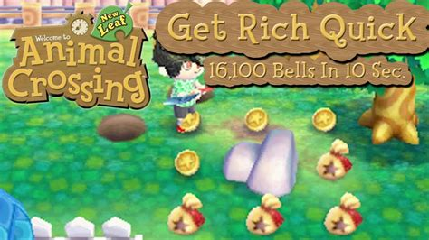 New horizons is a console game. Animal Crossing: New Leaf - Get Rich Quick! 16,100 Bells In 10 Seconds! - YouTube