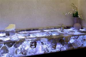Amethyst Geode Water Jet Marble Designs For Counter Top