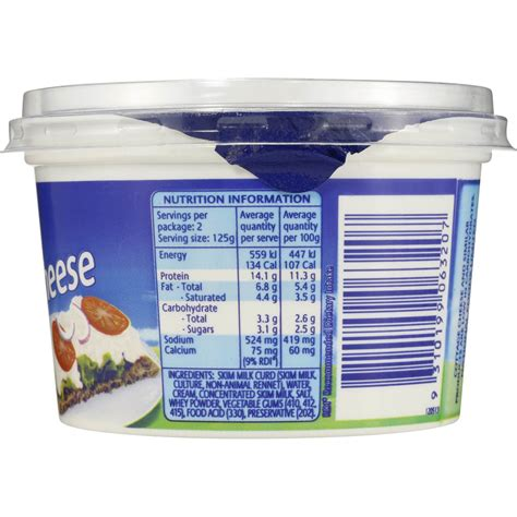 non dairy cottage cheese dairy farmers cottage cheese 250g woolworths