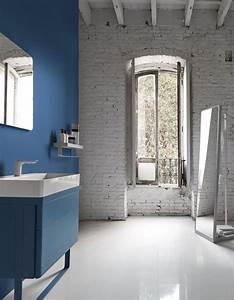 Déco Salle De Bains : d couvrez les plus belles salles de bains bleues elle d coration ~ Melissatoandfro.com Idées de Décoration