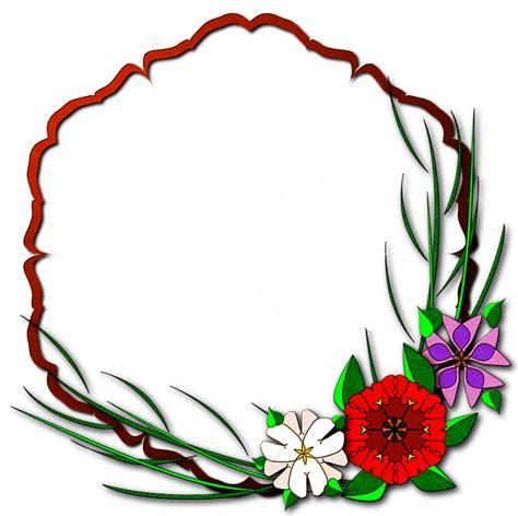 frame cantik bunga amtframeorg