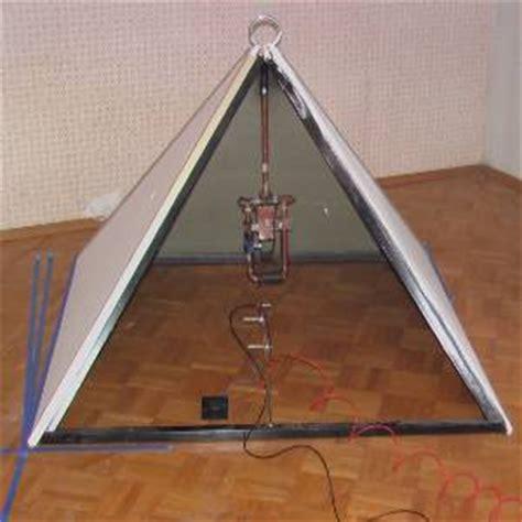 pyramid generator runs 12w fan the green optimistic