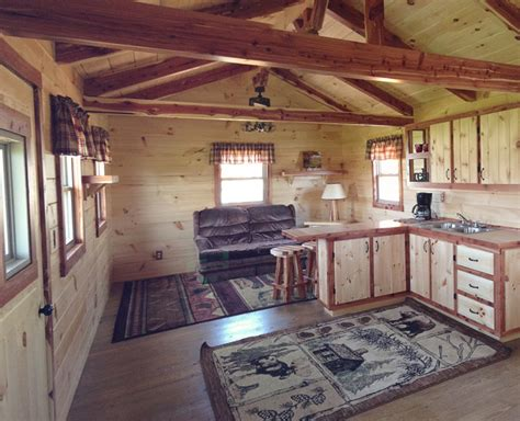 hunter log cabin    cozy homes life