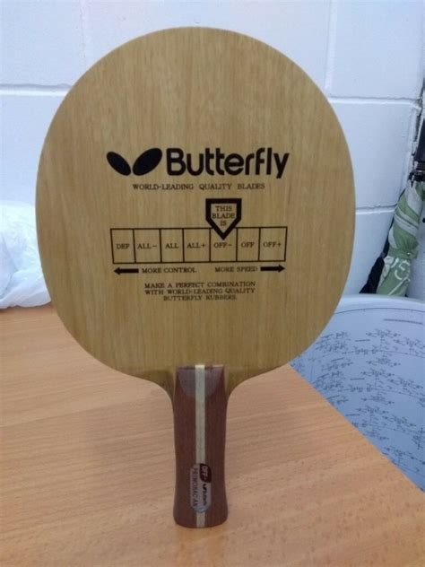 butterfly primorac table tennis blade   condition  lambeth london gumtree