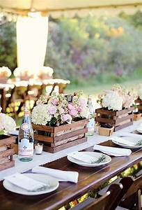 20 great ideas to use wooden crates at rustic weddings for Wedding table centerpieces ideas