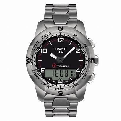 Tissot Touch Titanium Ii T047 Watches Reloj