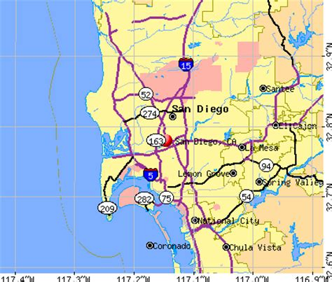 offenders san diego map san diego california ca profile population maps real
